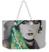Greta Garbo Weekender Tote Bag