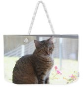 Gretchen Sitting In The Window Weekender Tote Bag
