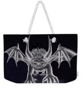 Grevil Silvered Weekender Tote Bag