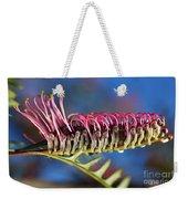 Grevillea Pink Australian Weekender Tote Bag