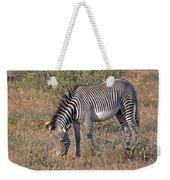 Grevys Zebra Weekender Tote Bag