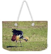 Grey Crowned Crane. The National Bird Of Uganda Weekender Tote Bag