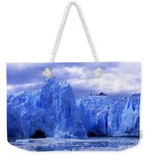 Grey Glacier Patagonia Chile Weekender Tote Bag