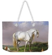 Grey Stallion Weekender Tote Bag