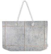 Grey Tiles Weekender Tote Bag
