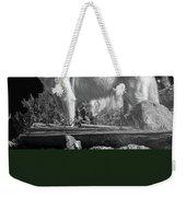 North American Wolf  Weekender Tote Bag