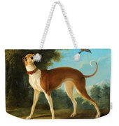 Greyhound In A Landscape Weekender Tote Bag