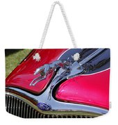Greyhound On A Ford Weekender Tote Bag