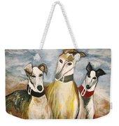 Greyhounds Weekender Tote Bag