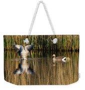 Greylag Goose Family Weekender Tote Bag