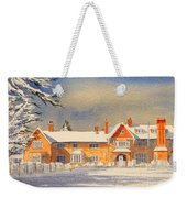 Griffin House School - Snowy Day Weekender Tote Bag