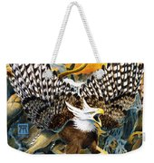 Griffin In Waterfall Weekender Tote Bag