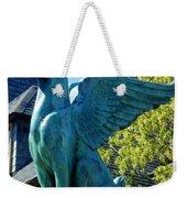 Griffin Natural Color Weekender Tote Bag
