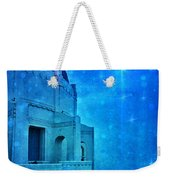 Griffith Park Observatory At Night Weekender Tote Bag