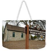 Griffith Quarry Park And Museum Penryn California Weekender Tote Bag