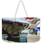 Griffin Charms The London Bridge Weekender Tote Bag