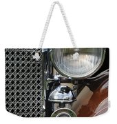 Grill And Headlight Weekender Tote Bag