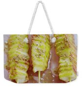 Grilled Haloumi Skewers Weekender Tote Bag
