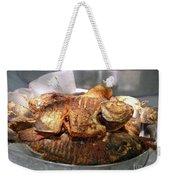 Grilled Pirana Weekender Tote Bag