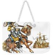 Grimm: Faithful John Weekender Tote Bag
