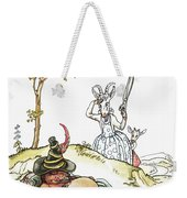 Grimm: Wolf And Seven Kids Weekender Tote Bag