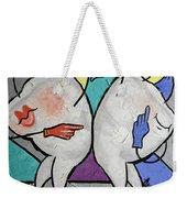 Grinding Teeth Weekender Tote Bag by Anthony Falbo