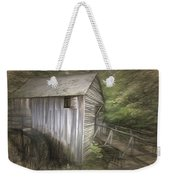 Grist Mill At Cades Cove Weekender Tote Bag
