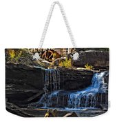 Grist Mill In Babcock State Park West Virginia Weekender Tote Bag