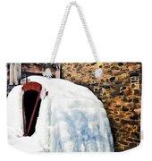 Grist Mill In Winter Weekender Tote Bag