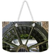 Grist Mill Wheel With Spillway Weekender Tote Bag