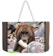 Grizzly Bear 01 Weekender Tote Bag
