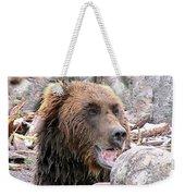 Grizzly Bear 02 Postcard Weekender Tote Bag