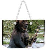 Grizzly Bear 08 Weekender Tote Bag