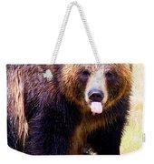 Grizzly Bear 1 Weekender Tote Bag