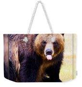 Grizzly Bear 2 Weekender Tote Bag