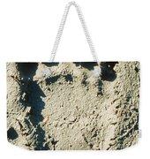 Grizzly Bear Track In Soft Mud. Weekender Tote Bag