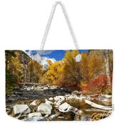 Grizzly Creek Canyon Weekender Tote Bag