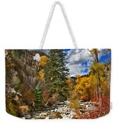 Grizzly Creek Vertical Weekender Tote Bag