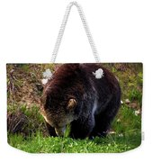 Grizzly Grazing Weekender Tote Bag