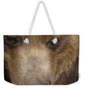 Grizzly Upclose Weekender Tote Bag