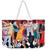 Groovin High In Nyc Weekender Tote Bag