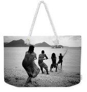 Gros Islet Fishermen Weekender Tote Bag