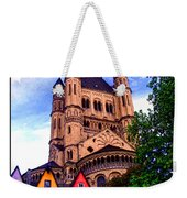 Gross St. Martin In Cologne Germany Weekender Tote Bag
