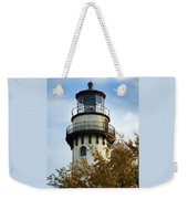Grosse Point Lighthouse Weekender Tote Bag