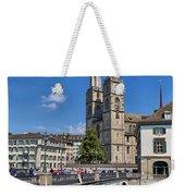 Grossmuenster Zurich Weekender Tote Bag