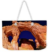 Grosvenor Arch Sunset Kodachrome Basin Weekender Tote Bag