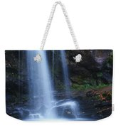 Grotto Falls Great Smoky Mountains Weekender Tote Bag