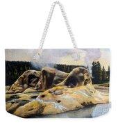 Grotto Geyser Yellowstone Np 1928 Weekender Tote Bag