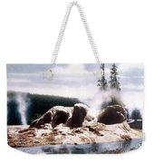 Grotto Geyser Yellowstone Np Weekender Tote Bag