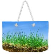 Ground And Grass Weekender Tote Bag